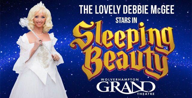 Debbie McGee ~ The Lovely Fairy Crystal ~ Panto ~ Sleeping Beauty